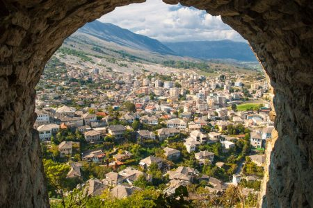 Albania cities-gjirokaster