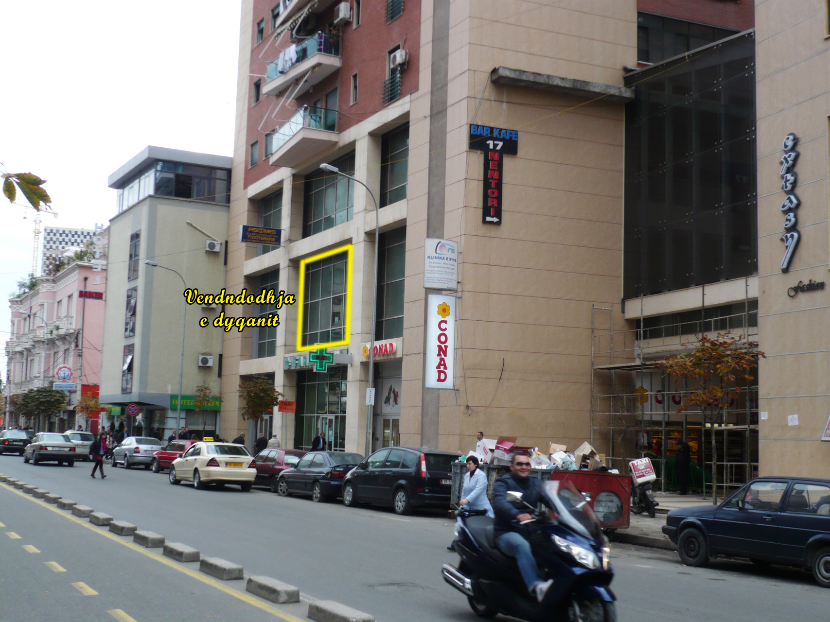 Store for RENT in Tirana near Sami Frasheri High School, 60m2(TRR-1001)