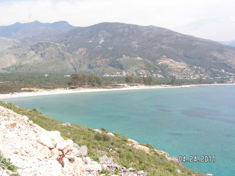 Float of Land for SALE in Qeparo, Himare | on the coast 10,000m2 | with Deeds (QRS-1001)