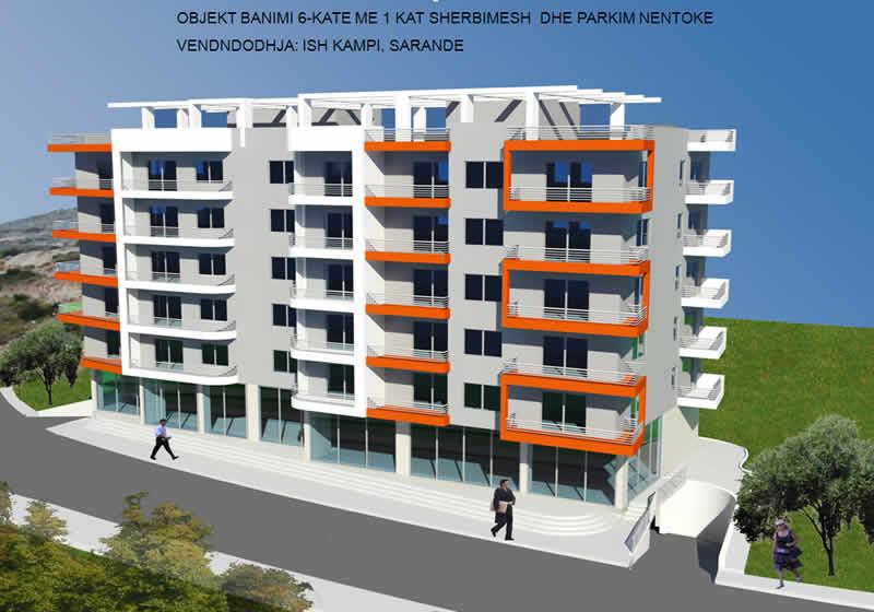 Apartamente per SHITJE ne Sarande | Me pamje nga deti | 750�/m2 (SRS-1015)