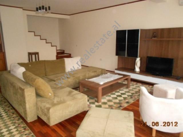 Duplex apartment for rent in Kodra e Diellit Residence in Tirana , (TRR-1112-12)