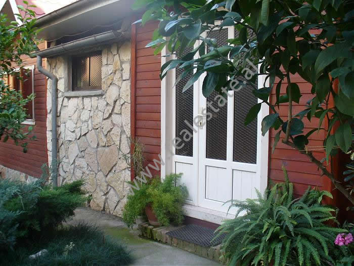 Wooden villa for rent in Budi street , in Tirana (TRR-1112-16)
