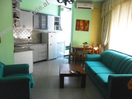 Apartment for rent in Mujo Ulqinaku Street in Tirana, Albania (TRR-613-22)