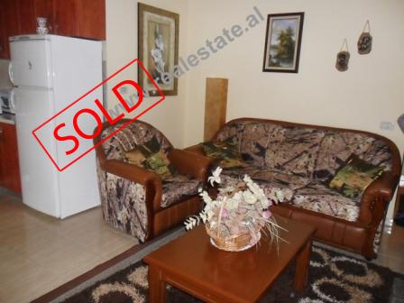 Apartament 1+1 ne shitje ne rrugen Arkitekt Kasemi ne Tirane (TRS-413-14)