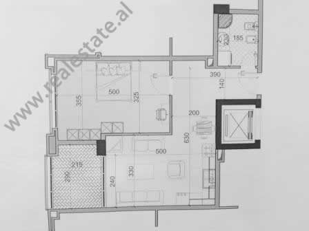 One bedroom apartment for sale in Haxhi Sina Street in Tirana, Albania (TRS-616-5b)