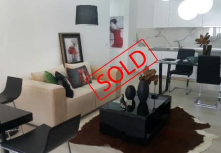 Apartament 1+1 luksoz per shitje prane Liqenit Artificial ne Tirane (TRS-716-34K)