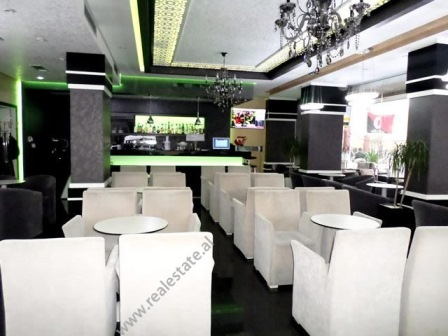 Modern coffee-bar for rent in Don Bosko Street in Tirana, Albania (TRR-117-50L)