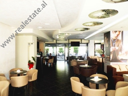 Modern coffee-bar for rent in Sami Frasheri street in Tirana, Albania (TRR-817-12K)