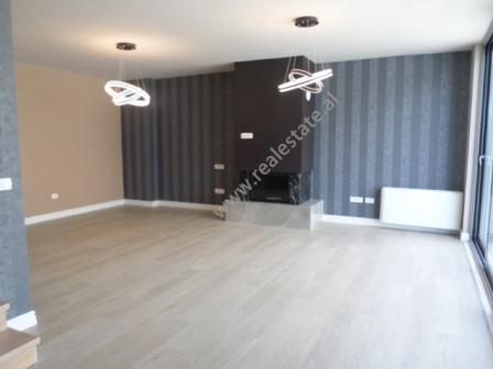 Duplex apartment for rent close to Artificial Lake of Tirana, Albania (TRR-618-13d)