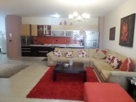 Two bedroom apartment for rent in Bajram Curri Boulevard in Tirana, Albania (TRR-618-24d)