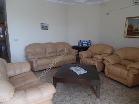 Three bedroom apartment for rent in Blloku area in Tirana, Albania (TRR-418-45d)