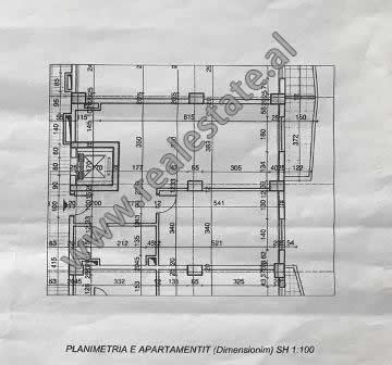 Apartament 1+1 ne shitje prane zones se Spitalit Rajonal ne Durres (DRS-918-1E)