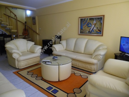 Two bedroom duplex apartment for rent in the Center of Tirana, Albania (TRR-918-41d)