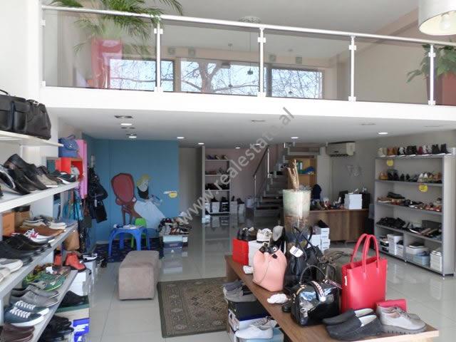 Duplex store for rent in Don Bosko street in Tirana, Albania (TRR-319-45T)