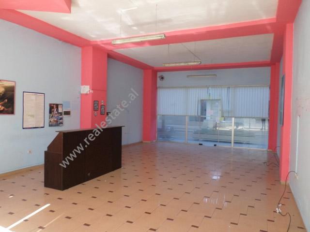 Store space for rent in Don Bosko street in Tirana, Albania. (TRR-319-52T)
