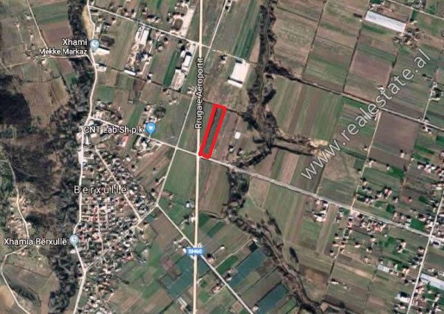 Toke per shitje ne zonen e Berxulles ne Tirane (TRS-419-62L)