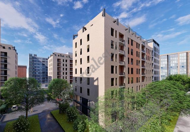 Apartament 2+1 per shitje prane Casa Italia ne Tirane
