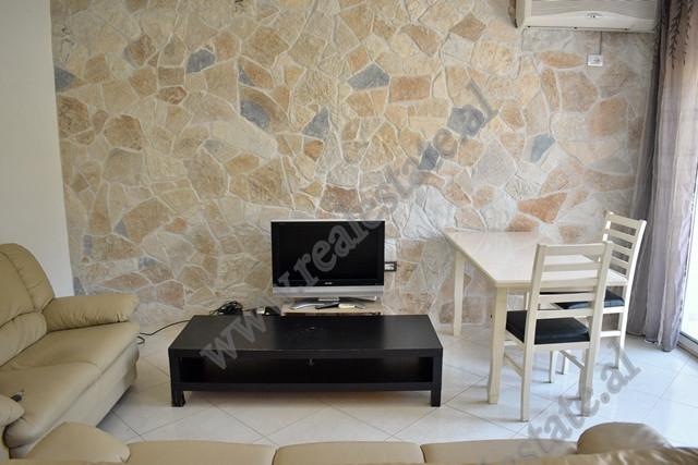 Apartament 1+1 me qera ne zonen e Liqenit Artificial ne Tirane