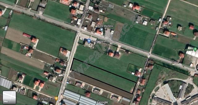Toke per shitje prane rruges se Rinasit ne Domje, Tirane