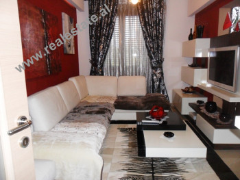 Apartment for rent in front of Russian Embassy in Tirana. The apartment is positioned on the 3rd flo