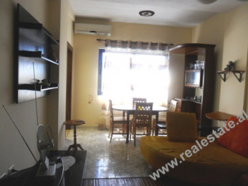 Apartment for rent in Blloku area in Tirana. The apartment is situated on the 5th floor of a new bui