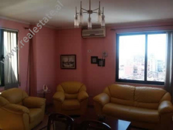 Apartment for rent in Bajram Curri Boulevard in Tirana. The apartment is situated on the 10th floor