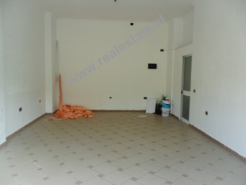 Store space for sale in Tirana. The store is situated on the 1st floor of a new building. It has 60