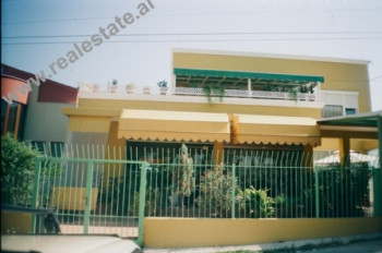 Two storey villa for sale in Tirana. With 297 m2 of land, villa has 380 m2 of living space. The floo