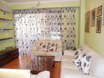 Two bedroom apartment for rent in Ndreko Rino in Tirana. The apartment is situated on the 4th floor