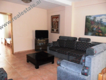Two bedroom apartment for rent in Zogu I Boulevard in Tirana. The flat is situated on the 8th floor