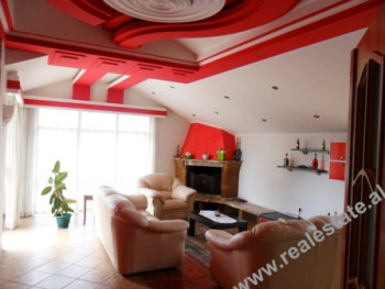 Two bedroom apartment for rent in Mahmut Fortuzi Street in Tirana. The apartment is located in a qu