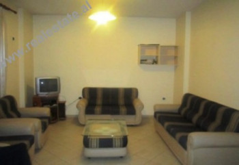 Two bedroom apartment for rent in Brigada VIII Street in Tirana. The apartment is located in the mo