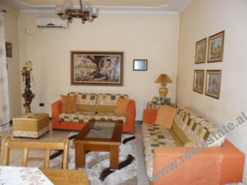 Two bedroom apartment for rent in Tirana. The apartment is situated on the 4th floor of the buildin