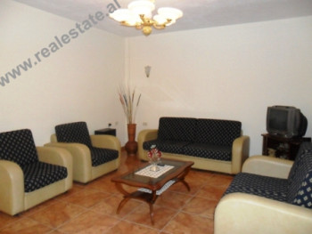 Two bedroom apartment for rent in Llazar Pulluqi Street in Tirana.