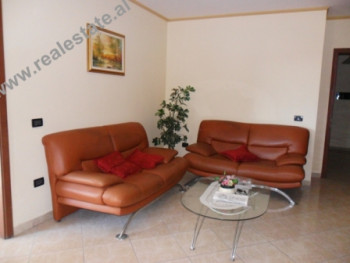 Two bedroom apartment for rent in Tirana. The apartment is located in a good area of the city, clos