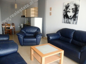 One bedroom apartment for rent in Don Bosko Street in Tirana. The apartment is located in a prefera