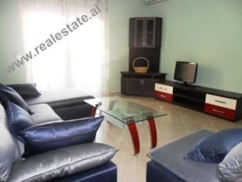 One bedroom apartment for rent in Elbasanit Street in Tirana. The apartment is located in a preferab