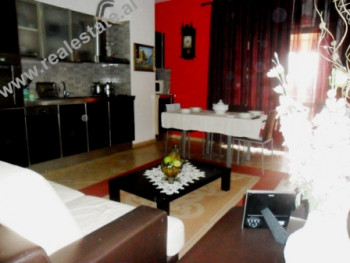 Two bedroom apartment for rent in Barrikadave Street in Tirana.