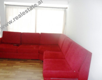 Apartment for rent in Bilal Golemi Street in Tirana.