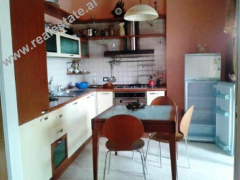 Two bedroom apartment for sale in Zogu I Boulevard in Tirana. The flat is situated on the 7th floor