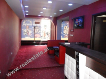 Business store for rent in Blloku area in Tirana. The store is situated on the first floor of the b