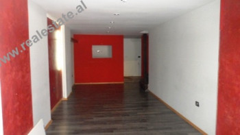 Business store for rent close to Ibrahim Rugova Street in Tirana. The store has 120 m2 of space, or