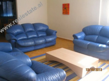 Two bedroom apartment for rent close to New York University of Tirana. The flat is situated on the