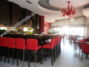 Coffee bar for sale close to Vizion Plus Complex building in Tirana. This property is situated on t