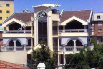 Four storey villa for rent close to Zhan D'Ark Boulevard in Tirana. This property is built in