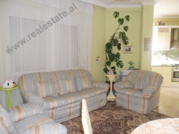 One bedroom apartment for rent in Myslym Shyri Street in Tirana.The flat is situated on the 3rd floo
