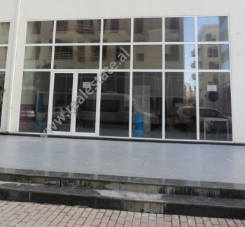 Store space for rent in Reshit Petrela Street in Tirana.The store is situated on the ground floor of