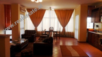 Two bedroom apartment for rent close to Blloku area in Tirana, Albania.
