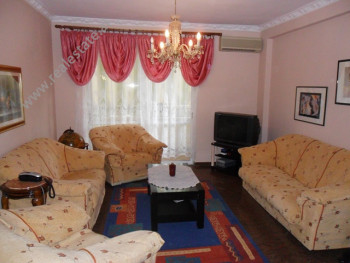 Two bedroom apartment for sale in Lidhja e Prizrenit Street in Tirana. The apartment is located on t