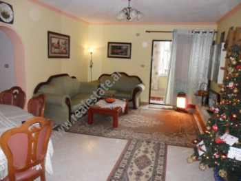 Two bedroom apartment for rent in Gjik Kuqali Street in Tirana. The apartment is located on the 4-th